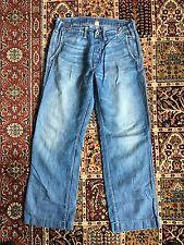 RRL Ralph Lauren Double RL Cotton Linen Carpenter Pants 28 29 30