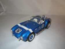 "Majorette  Shelby  Cobra  427S/C  #16  ""blau-metallic""  1:18 ohne Verpackung !!"