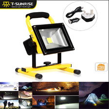 20W LED Portable Outdoor Camping Flood Light Spot Work Lamp Car Rechargeable
