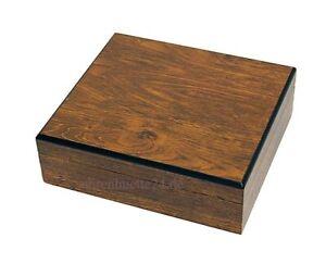 Uhrenkoffer Uhrenbox aus Echtholz für 8 Uhren