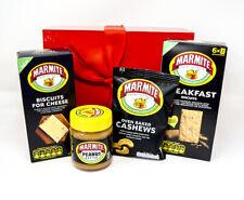 Marmite Yeast burro di arachidi Noccioline COLAZIONE BISCOTTI FAMIGLIA Formaggio Scatola Regalo Set