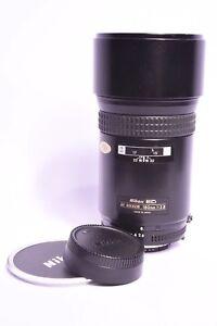 Objetivo Nikon Ed Af Nikkor F / 2.8-180mm #210831 Con Tapa