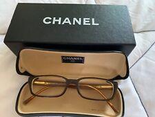 Chanel Vision Glasses Brown Frame Boxed