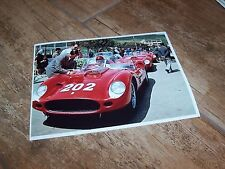 Photo  /  Photograph  Allison / Ginther FERRARI Targa Florio 1960 //