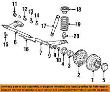 HYUNDAI OEM 90-94 Excel Rear Suspension-Control Arm Outer Bushing 5556523001