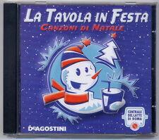 La Tavola in Festa + libretto 14 ricette pranzo Natale-Centrale Latte Roma CD136