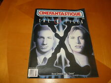 Cinefastique Oct 1996 David Duchovny Gillian Anderson X-Files Gamera 2 NM-