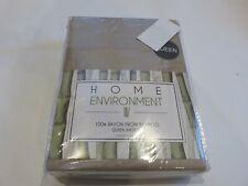 Home Environment Bamboo Linen Tan 4P Queen Sheet Set NIP