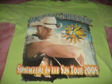 Kenny Chesney Somewhere In The Sun 2005 Tour  Adult  Small T-Shirt