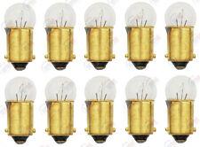 10x 53 Light Bulb Miniature Gauge Cluster Instrument Panel Ba9S