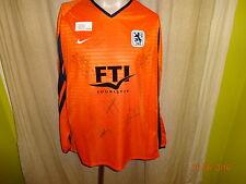 TSV 1860 München Nike Langarm Spieler Trikot 1999/00 + Handsigniert Gr.XL Neu