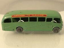 Vintage Lesney Moko Matchbox 21-B Bedford Duple Coach Gray Wheels RARE NEAR MINT