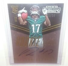 2015 Contenders Nelson Agholor Rookie Ink Auto RC #'d 1/10 Philadelphia Eagles