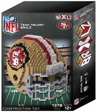 San Francisco 49ers Team Helmet NFL BRXLZ Puzzle 3D Construction Toy 1395 Pcs