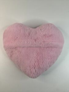 Pink Puffy Heart Soft Touch Pillow Cushion FREE FAST SHIP