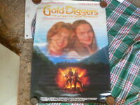 GOLD DIGGERS THE SECRET OF BEAR MOUNTAIN 1 SHEET MOVIE POSTER AUST EDITION
