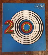 Casa De Las Americas - 20 - N.121 Revista 1980 Cuban Latin American Magazine