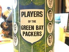 VINTAGE ORIGINAL 1971 GREEN BAY PACKERS TRASH CAN IS IN GOOD CONDITION 16 INCHES