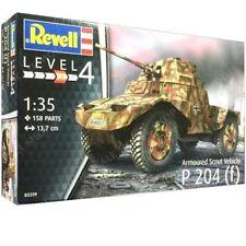 Revell 3259 1:35th escala German Segunda Guerra Mundial vehículo acorazado Scout P 204 (F)