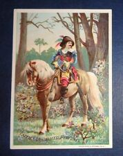 graphic Victorian trade card advertising Lazell Perfume