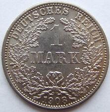 TOP! 1 Mark 1908 F en EXCELLENT / PIÈCE DE MONNAIE