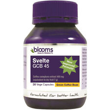 BLOOMS SVELTE GCB 45 PERCENT 30 VEGE CAPSULES GREEN COFFEE BEAN HEALTHY DIET