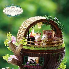 fait main 3D Maison de poupée miniature Do It Yourself poupées Building jouets