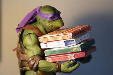Ninja Turtles TMNT Neca 1/4 Scale Ultimate Pizza Pack Box Lot 4 Boxes Custom Pie