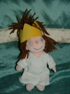 """LITTLE PRINCESS SMALL 9"""" DOLL PLUSH BEANIE SOFT TOY TONY ROSS BORN TO PLAY"""