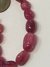 Ruby Spinel Gem Quality Beads Best Color Tanzania Fine Necklace 216Ct