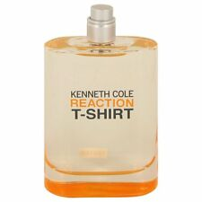 Kenneth Cole REACTION T-SHIRT 3.4 oz for Men edt New Unbox