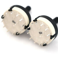 2pcs RS26 1 Pole Position 12 Selectable Band Rotary Channel Selector Switch PEH