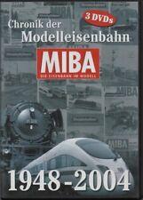 "3 x DVD MIBA-Die Eisenbahn im Modell ""Chronik der Modelleisenbahn 1848-2004"""