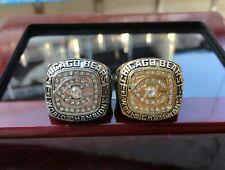 (2pcs) 1985 Chicago Bears World championship Ring --