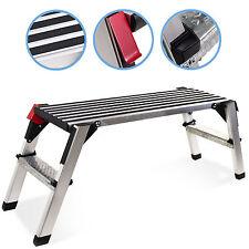Aleación 2 paso pisada plegable banco de plataforma de yeso diseñador de trabajo decorador Escalera