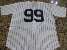 NEW! Aaron Judge #99 New York Yankees STITCH Pinstripe Baseball Jersey Men's 3XL