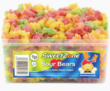 SWEETZONE SOUR BEARS 600 PIECES SWEETS TREATS WHOLESALE DISCOUNT GAY PRIDE