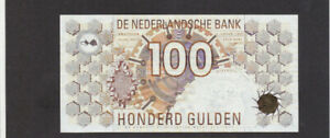 100 GULDEN VERY FINE BANKNOTE FROM NETHERLANDS 1992 PICK-101 RARE