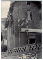 Madagascar, Tananarive, Bureau Télégraphique  Vintage citrate print. Photographi