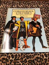 Paper Dolls in Full Color Tom Tierney Uncut Christopher Columbus 1991