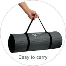 Tapis de sol NBR ultra épais  sport, yoga,fitness,gym,musculation 183x60x1,5cm