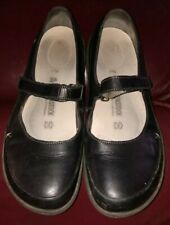 BIRKENSTOCK Iona black Mary Jane Women's size 40 MARY JANE LEATHER COMFY SHOES