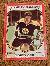1973-74 O-Pee-Chee Hockey Lot of 36 (Bobby Orr)- see pics for condition concerns
