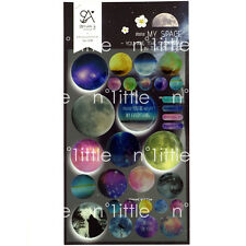 My Space Style 3D Diary Deco Iphone Button Stickers Labels Scrapbook Journal