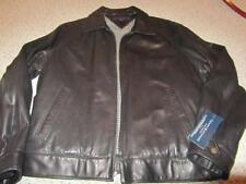 Tommy Hilfiger Genuine Leather (Buttery soft) Mens Jacket Black NWT XL $425