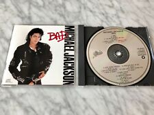 Michael Jackson Bad CD 1987 DADC PRESS! Epic EK 40600 DIDP RARE! Smooth Criminal