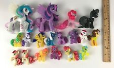 "Lot of Hasbro 18 My Little Pony Friendship is Magic  2"" 3"" & 4"" Figures"