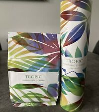 NEW Tropic Skincare Smoothing Cleanser and Bamboo Face Cloth Vegan Natural