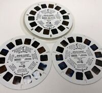 Vintage 1976 3D View-Master Jesus Christ -His Youth, Disciples, Miracles 3 Reels