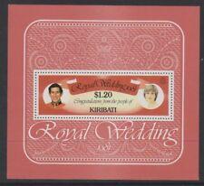 Kiribati - 1981, Royal Wedding sheet - MNH - SG MS155